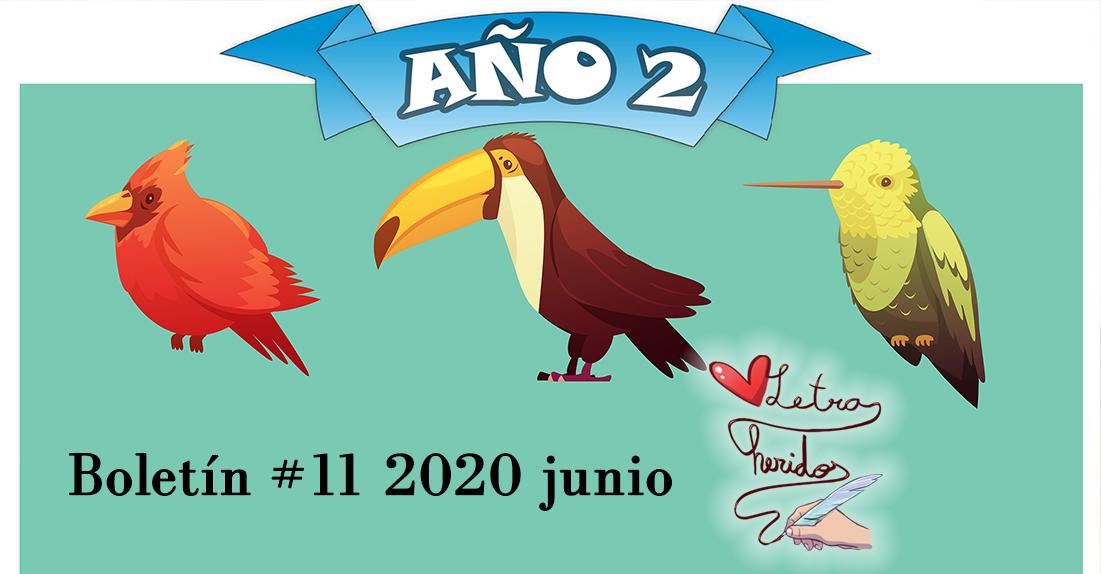 Boletín Letraheridos 11 (Junio 2020)