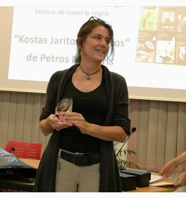 Nuestra compañera Mireia Vancells gana el Premi Cubelles Noir 2019