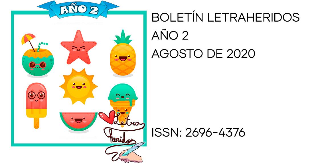 Boletín Letraheridos 12 (agosto 2020)