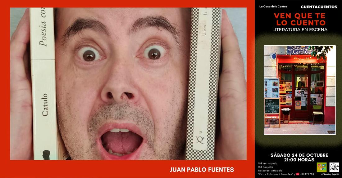 Munt de mots: Juan Pablo Fuentes en «La Casa dels contes» (La casa de los cuentos)